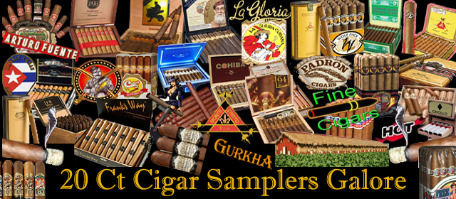 20 Ct. Cigar Samplers Galore